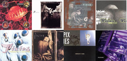 surfer rosa + come on pilgrim + doolittle + bossa nova + trompe le monde + at the bbc + b-sides + the purple tape
